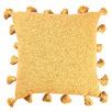 Mustard Square Cotton Cushion