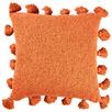 Rust Raffa Square Cotton Cushion