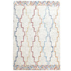 Multi-Coloured Icon Hand-Tufted Wool Rug
