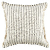 Stripe Frayed Edge Cotton Cushion