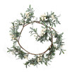 30cm White Berry Christmas Garland