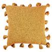 Mustard Raffa Square Cotton Cushion