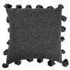 Charcoal Raffa Square Cotton Cushion