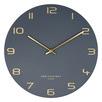 Charcoal Blake Metal Wall Clock