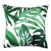 Tropical Monstera Foliage Cotton Cushion
