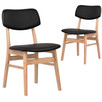 Greta Upholstered PU Dining Chairs