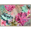 The Palm Framed Canvas Wall Art