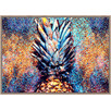 Pineapple Framed Canvas Wall Art