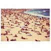 Bondi Sunbathers Printed Wall Art