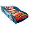 Blue F1 Car Bed Frame