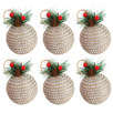 Diamonte Baubles with Pine