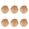 Nayad Burlap-Wrapped Baubles