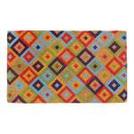 Home & Lifestyle Multi-Coloured Saman Coir Doormat