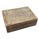 Bohemia & Co Connor Mango Wood Jewellery Box