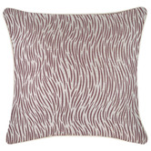Escape to Paradise Rose Wild Piped Square Outdoor Cushion