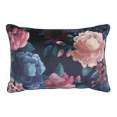 Madras Link Floral Eclipse Velvet Breakfast Cushion