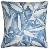 Madras Link Gumleaf Blue Cotton Cushion