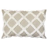 Madras Link Natural Check Avoca Linen Cushion