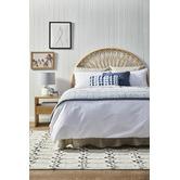 Madras Link Blue Brooke Rectangular Cotton Cushion