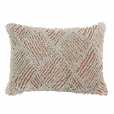 Madras Link Jervis Embroidered Cotton Breakfast Cushion