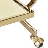 Estudio Furniture Gold Gatsby Bar Cart