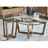 Estudio Furniture Monterey Natural Coffee & Side Table Set
