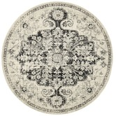 Network Rugs Charcoal Chilaz Bulbut Round Rug