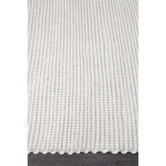 Network Rugs Grey & White Felted Wool Scandi Rug