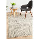 Network Rugs Grey & Natural Carlos Felted Wool Rug