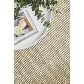 Network Rugs Natural & Cream Hand-Loomed Wool-Blend Rug