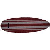 Solemate Door Mats Red Surfing Board Doormat