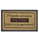 Solemate Door Mats Friends Welcome Coir & Rubber Doormat