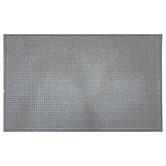 Solemate Door Mats Grey Grid Marine Grade Doormat