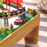 KidKraft Adventure Town Railway Train Set & Table