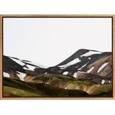 A La Mode Studio Icelandic Hills Canvas Wall Art