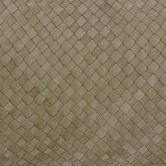 NSW Leather Bottega Weave Rectangular Leather Cushion