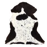 NSW Leather Spot Shearling Sheepskin Rug