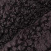 NSW Leather Graphite Shearling Sheepskin Cushion