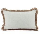 Nicholas Agency & Co Fringed Basic Rectangular Cushion