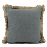Nicholas Agency & Co Fringed Basic Square Cushion