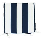 Nicholas Agency & Co Striped Shevy Outdoor Chair Pad
