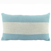 Nicholas Agency & Co Stripe Rectangular Linen-Blend Cushion