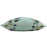 Nicholas Agency & Co Sky Chino Linen-Blend Cushion