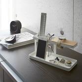 Yamazaki Yamazaki Metal & Wood Tower Desk Organiser
