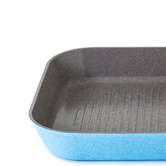 Neoflam Marble Blue Luke Hines 28cm Grill Pan