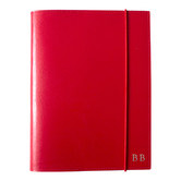 Corban & Blair A5 Red Leather Journal