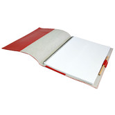 Corban & Blair A4 Red Personalised Leather Journal