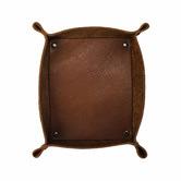 Corban & Blair 6 Piece Tan Artisan Leather Complete Desk Set
