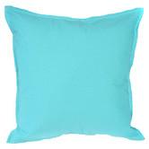 Bungalow Living Aqua Solid Indoor/Outdoor Cushion Bungalow Living