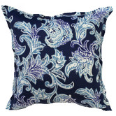 Bungalow Living Bali Blue Indoor/Outdoor Cushion